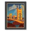 Americanflat Sacremento Framed Vintage Advertisement