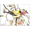 Americanflat Goldfinch by Suren Nersisyan Painting Print