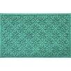 Bungalow Flooring Aqua Shield Medallion Doormat