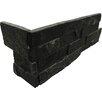 MS International Random Sized Natural Stone Splitface Tile in Black