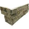 MS International Random Sized Natural Stone Splitface Tile in Sage Green