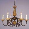 Classic Lighting Bloomington 6 Light Candle Chandelier