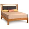 Copeland Furniture Monterey Upholstered Leather Panel Bed