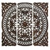 Aspire 3 Piece Carved Wall Décor Set