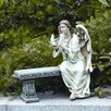 Roman, Inc. Memorial Angel Seated Statue