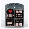 Wilco Home Home 4 Magnets Wall Décor