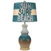 "Coast Lamp Mfg. Coastal Living Classic Casual Pot 28.5"" H Table Lamp with Empire Shade"