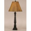 """Coast Lamp Mfg. Rustic Living Square Buffet 31"""" H Table Lamp with Empire Shade"""