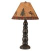 "Coast Lamp Mfg. Rustic Living 30"" H Table Lamp with Empire Shade"
