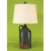 """Coast Lamp Mfg. Handle Pottery Jug 27.5"""" H Table Lamp with Drum Shade"""