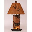"""Coast Lamp Mfg. Pine Cone 30"""" H Table Lamp with Empire Shade"""