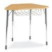 """Virco Zuma Plastic 32"""" Student Desk"""