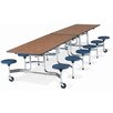 Virco Mobile Stool Table