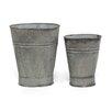 Sage & Co. Fleur Tin Footed Flower Vase (Set of 8)