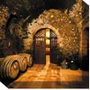 West of the Wind Outdoor Canvas Art Wine Cellar #3 Wrapped Photographic Print on Canvas