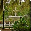West of the Wind Outdoor Canvas Art Southern Charm Wrapped Photographic Print on Canvas
