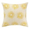 D.L. Rhein Etoile Embroidered Decorative Linen Throw Pillow