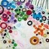 Printfinders Flourish by Gina Cochran Painting Print on Wrapped Canvas