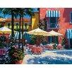 Printfinders Inn at Lake Garda by Howard Behrens on Canvas