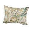Rennie & Rose Design Group Hadia Paisley Indoor/Outdoor Throw Pillow