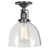 JVI Designs Union Square 1 Light Semi Flush Mount