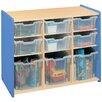 TotMate 2000 Series Preschooler Combination Big Bin Storage