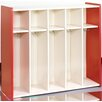 TotMate 1000 Series 5-Section Cubbie Toddler Locker