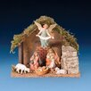 Fontanini 6 Piece Figurine Set with Italian Stable