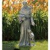 Joseph's Studio Saint Francis with Deer Statue