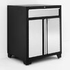 NewAge Products Pro Stainless Steel 1 Drawer 2 Door Base Cabinet