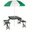 Stansport Picnic Table with Umbrella