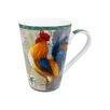 Konitz Rooster Morning Star 13 Oz. Mug (Set of 2)