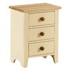 AlpenHome Solst 3 Drawer Bedside Table