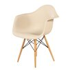 dCOR design The Mid Century Wood Eiffel Arm Chair