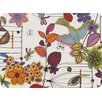 The Designs of Distinction Flower and Bird Laminated Placemat (Set of 2)