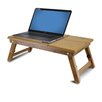 "Furinno Bamboo 11.6"" H x 23.8"" W Adjustable Notebook Laptop Desk"