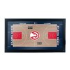 Trademark Global NBA Court Framed Graphic Art