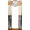 Trademark Global Budweiser Wood and Mirror Cue Rack