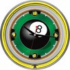 "Trademark Global 14"" Rack'em 8 Ball Wall Clock"
