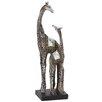 Woodland Imports Showpiece Giraffes Figurine
