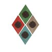 Woodland Imports The Simple Wood Wall Décor (Set of 4)