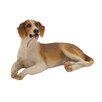 Woodland Imports Shaded Polystone Dog Figurine