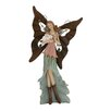 Woodland Imports Adorable and Attractive Polystone Metal Fairy Figurine
