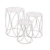 Woodland Imports The Heavenly 3 Piece Plant Stand