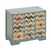 Woodland Imports Contemporary Styled Wood Jewelry Chest