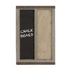 Woodland Imports Classy Styled 2' x 1.6' Memo Chalkboard