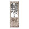 Woodland Imports Family Themed Creative Metal Wall Décor