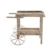 Woodland Imports Magical Decorative Wood / Metal Handcart
