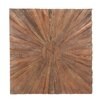 Woodland Imports The Grand Graphic Art in Brown