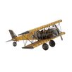 Woodland Imports Classy Metal Airplane Sculpture